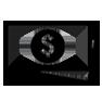 Minimalistic icon of cash bills
