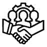 icon showing people working together